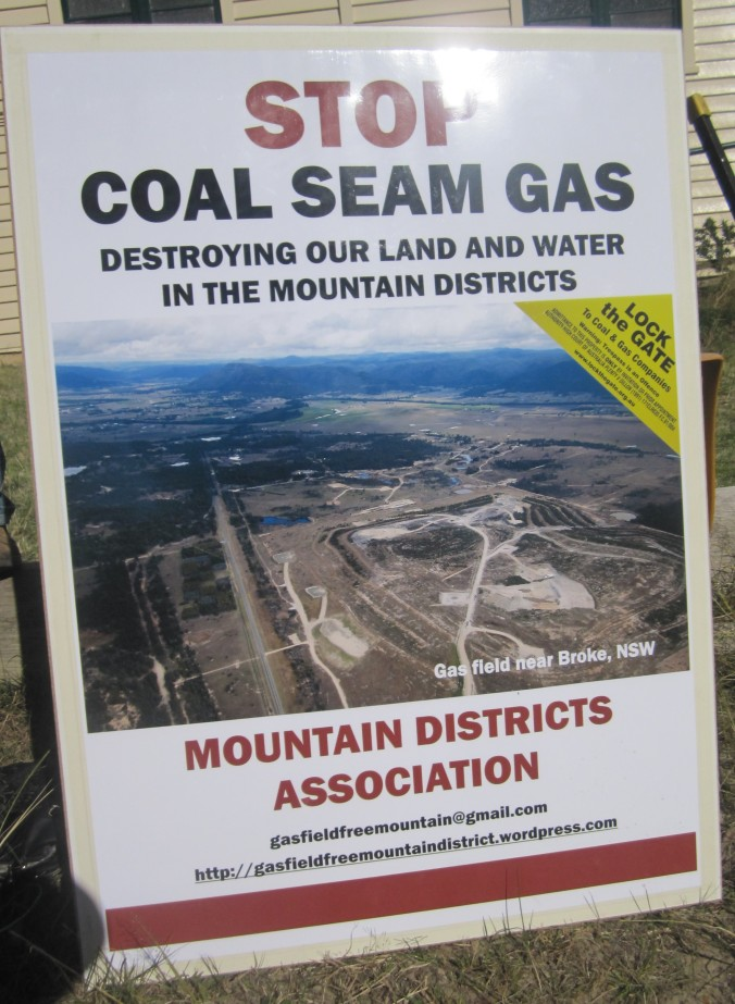 Gas Field Free Mountain Community effort to keep the scourge of coal seam gas mining away
